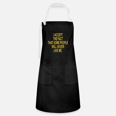 Care Assertive shirt motivational idea gift - Artisan Apron