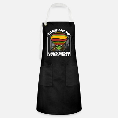 Sci-fi Take me to your party weed weed gift idea - Artisan Apron