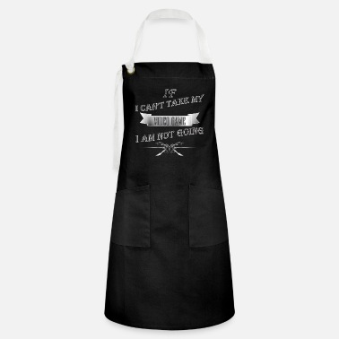 Video Video Game - If I can't take my VIDEO GAME - Artisan Apron