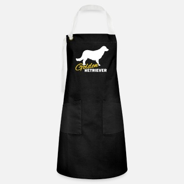 Golden Retriever Golden retriever - Golden retriever - Artisan Apron