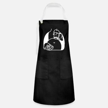 Crittercontest Laziness Relaxation with beer and play - Artisan Apron
