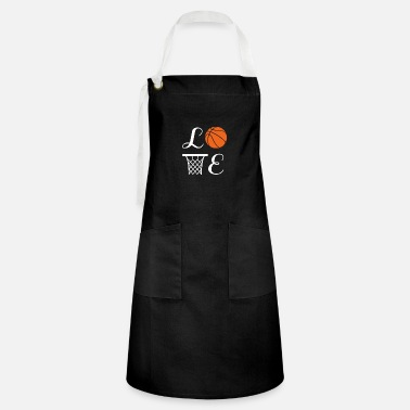 Ball Basketball Player Team Mom Coach Gift - Artisan Apron