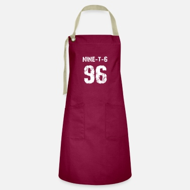 Baseball Player 96 Sport Fan or 96th Birthday Jersey 1996 - Artisan Apron