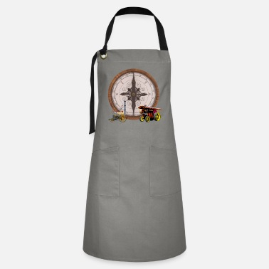 Steam Engine Steam Compose Steam Train & Traction Engine - Artisan Apron