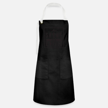 Winter Skiing coffee winter sports skis snow winter - Artisan Apron