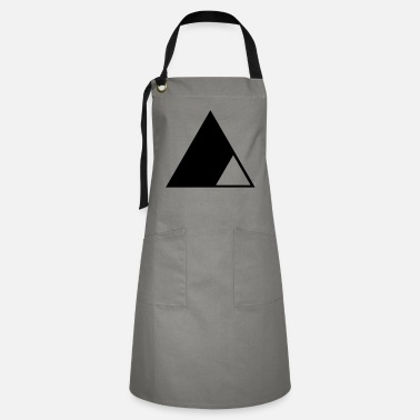 Triangles Triangle in the triangle - Artisan Apron