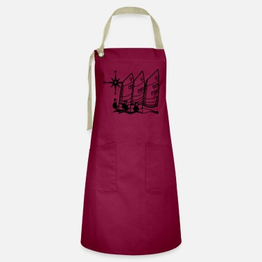 Opti Optimist Sailing Regatta Opti - kids Sailing kids - Artisan Apron
