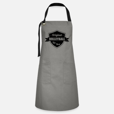 Volleyball - Volley Ball - Sport - Sportsman - Artisan Apron