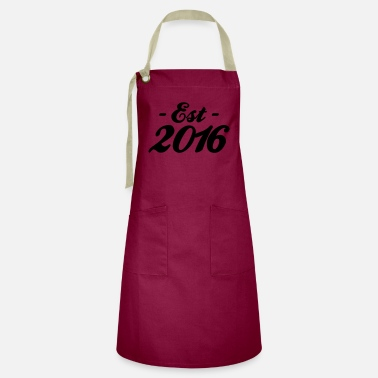 Established established 2016 - Artisan Apron