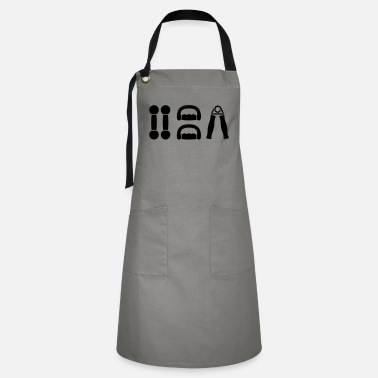 Sports gym dumbell sport - Artisan Apron