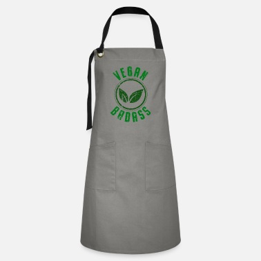 Factory Vegan Badass Brutal Healthy Diet Without Animals - Artisan Apron