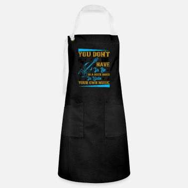 Techno Music You don't have to be in a rock band - Artisan Apron