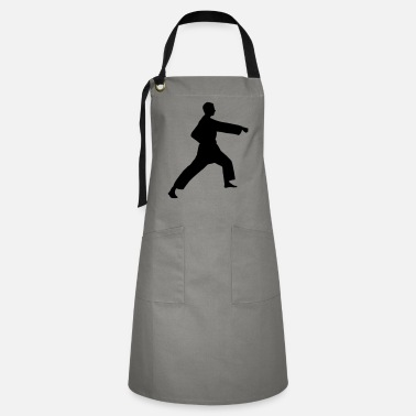 Punch Punch karate or teakwondo punch - Artisan Apron