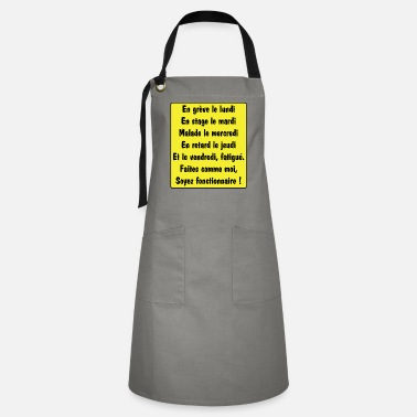 Official Person Official - Artisan Apron