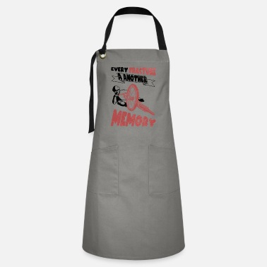 Bike Every break a new memory bike cycling - Artisan Apron