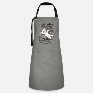 The Big Bang Theory Soft Kitty - Big Bang Theory - Artisan Apron