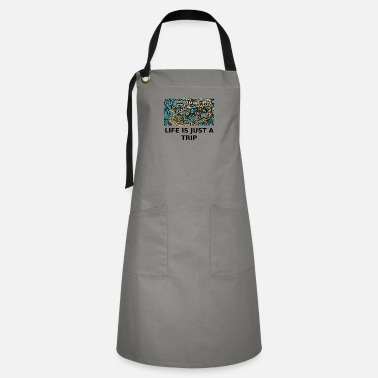 Bus Psychedelic Life is just a trip - Artisan Apron