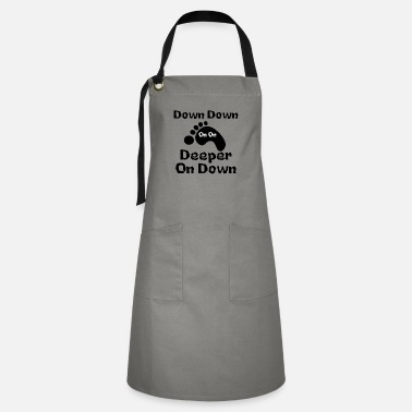 Down Down Down Deeper And down - Artisan Apron