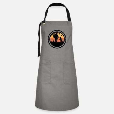 Sagittarius Never mess with a hunter. - Artisan Apron