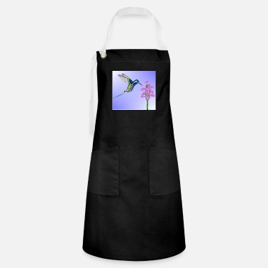 Crittercontest crittercontest Colorful Hummingbird - Artisan Apron