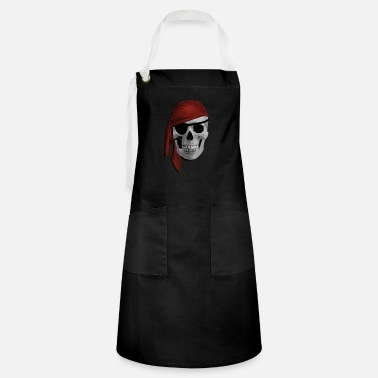 Pirate Cloth Pirate skull - Artisan Apron