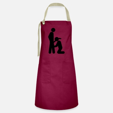 Blow Job Bubbles woman - Artisan Apron