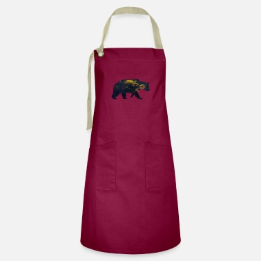 Funges Bear and Mushroom - Artisan Apron