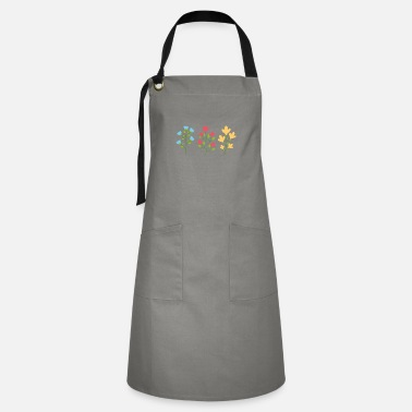 Climate Environmental protection gift environment flowers - Artisan Apron