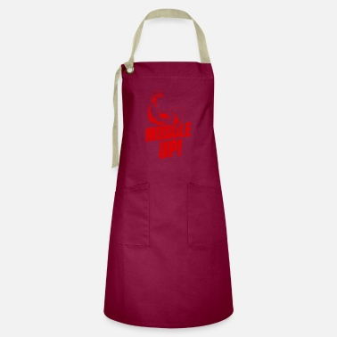 No Pain No Biceps Muscle Up Gym Fitness - Artisan Apron