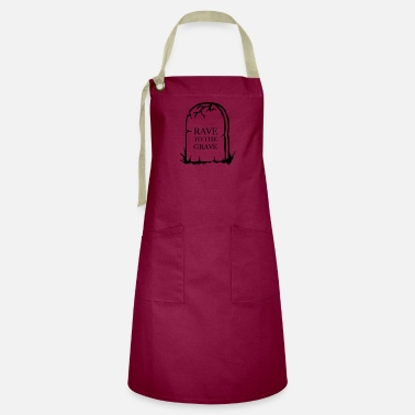 Rave to the Grave - Artisan Apron