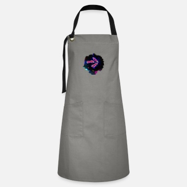 Jumpstyle discoball-WE WANT RAVE - Artisan Apron