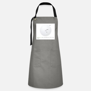 Silt figure a relative size of ton to silt un - Artisan Apron