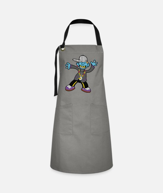 Young Aprons - Funny boy - Artisan Apron grey/black