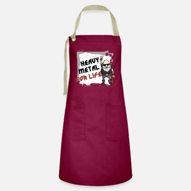 Heavy Metal Heavy Metal for Life - Artisan Apron