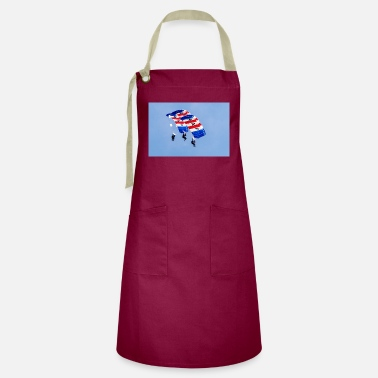 Air Royal Air Force Falcons Parachute Display Team - Artisan Apron