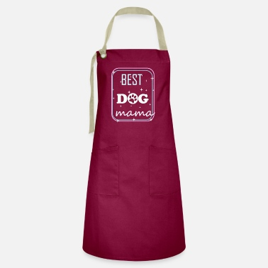 Mama Design This Best DOG mama design - Artisan Apron