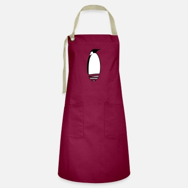 Stylized Animal a stylized penguin - Artisan Apron