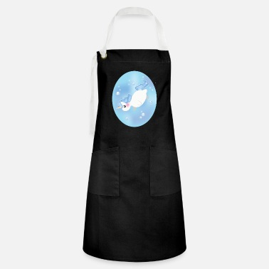 Swimming Mane Water unicorn - Artisan Apron