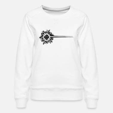 Eldritch Blast - Black - Women's Premium Sweatshirt