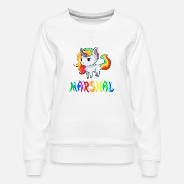 Marshall Unicorn Marshal - Dame premium sweatshirt