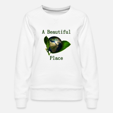 A Beautiful Place (our Planet) - Frauen Premium Pullover