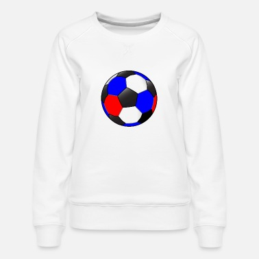 Red White And Blue Red White And Blue Football - Women's Premium Sweatshirt