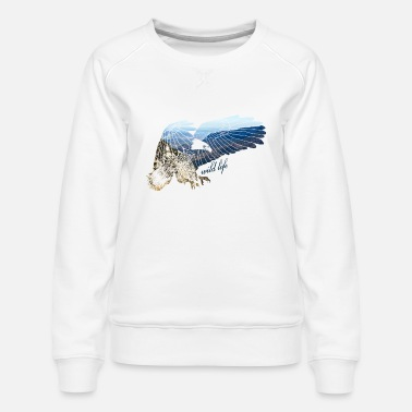 Rust Adler Wildlife - Vrouwen premium sweater
