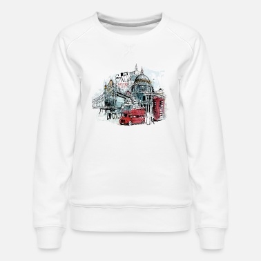 London London - Women's Premium Sweatshirt