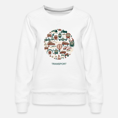 Transport transport - Women's Premium Sweatshirt