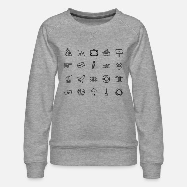 Icon Icons - Women's Premium Sweatshirt