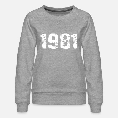 Year of birth - Women's Premium Sweatshirt