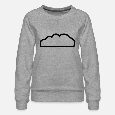Cloud Cloud / cloud - Women's Premium Sweatshirt