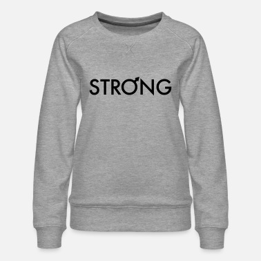 Strong man - Women's Premium Sweatshirt