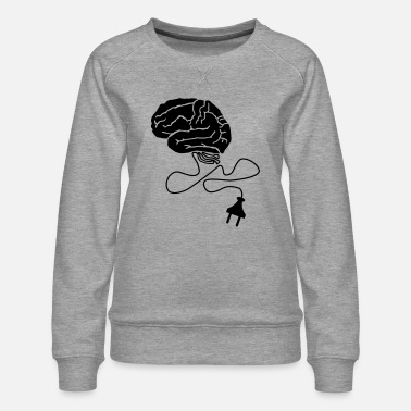 Brain Powerplug - Women's Premium Sweatshirt